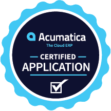 Acumatica certified application badge